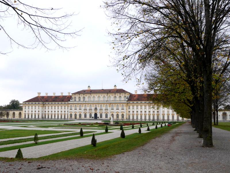 ミュンヘン 美術館 コンビチケット シュライスハイム城 バイエルン州立美術館 ノイエス シュライスハイム城 外観 @Schloss Schleißheim