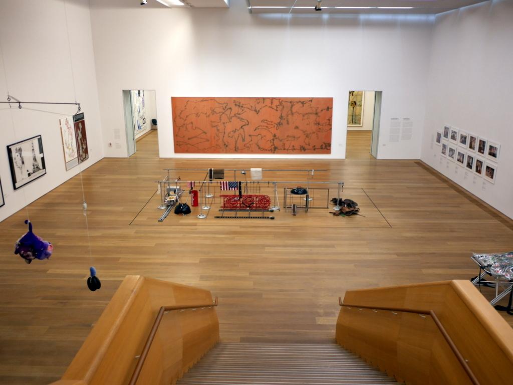 ミュンヘン 美術館 コンビチケット ブランドホルスト 地下フロアへのアプローチ @Museum Brandhorst