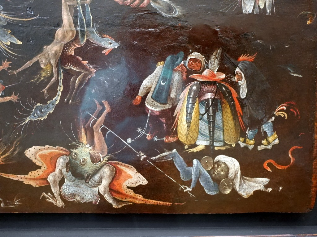ミュンヘン 美術館  芸術の都でアートを堪能 アルテ ノイエ モデルネ ピナコテーク ヒエロニムス・ボス作 「最後の審判」 @Alte Pinakothek