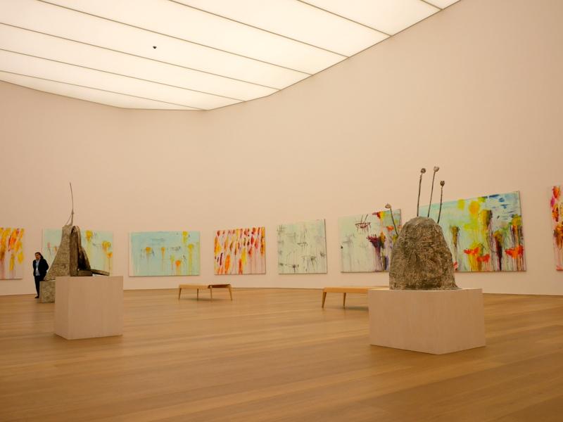 ミュンヘン 美術館 コンビチケット ブランドホルスト サイ・トゥオンブリー作『レパント(Lepanto)』@Museum Brandhorst