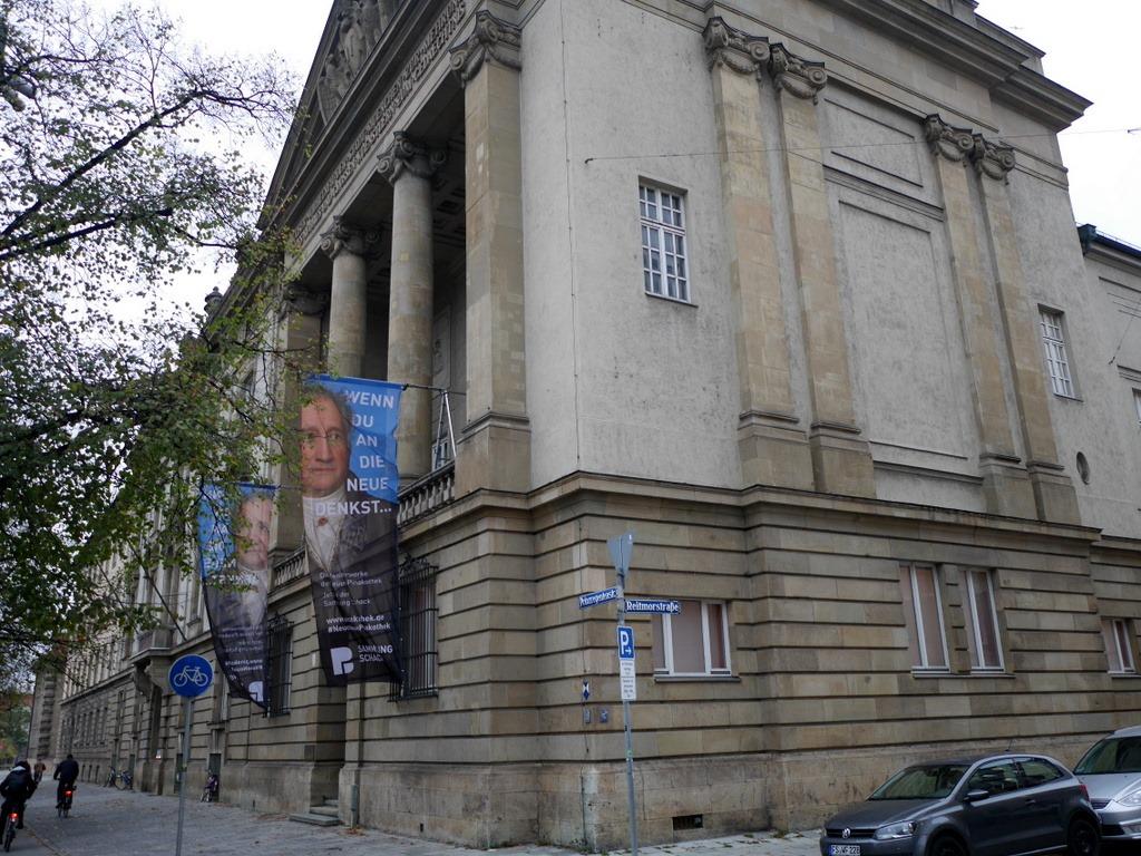 ミュンヘン 美術館 コンビチケット シャック コレクションシャック ギャラリー シャック ギャラリー外見 @Schack-Galerie