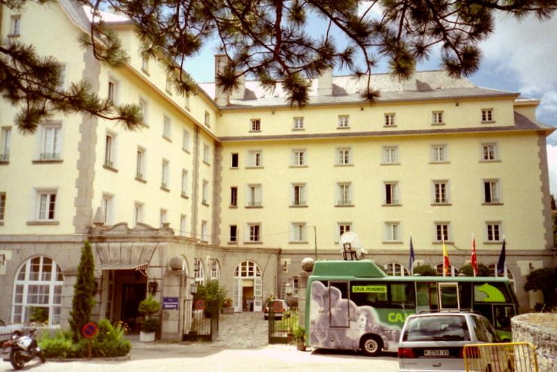 スペイン映画 ミツバチのささやき エル スール ビクトル エリセ  ホテル フェリペ二世 の外見 @Hotel Felipe II ,El Escorial