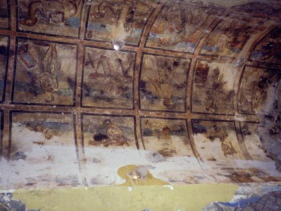 オリーブ石鹸 シリア ヨルダン アムラ城フレスコ画 @Qaṣr 'Amra