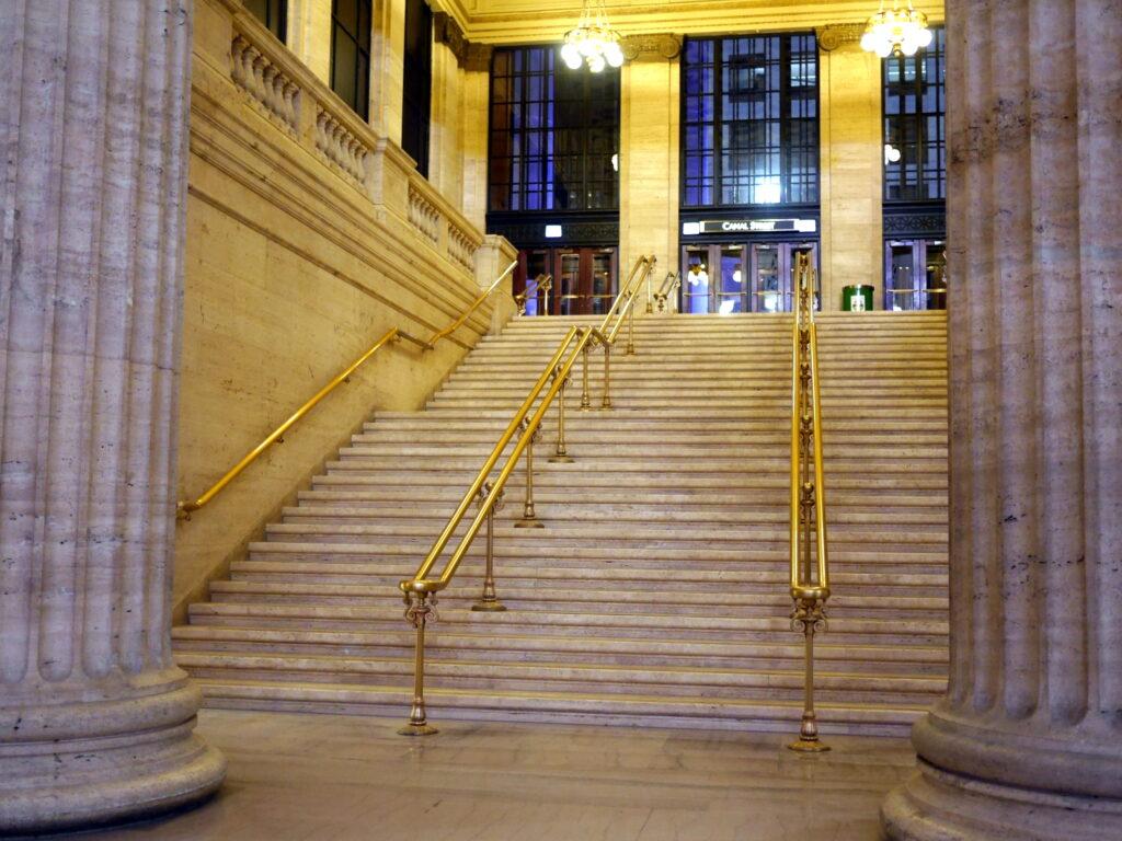 シカゴ交響楽団 オーケストラホール ユニオンステーションのアンタッチャブルの階段 @Union Station, Chicago