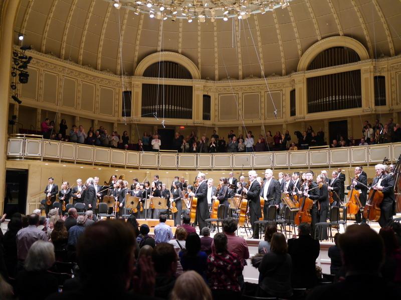 シカゴ交響楽団 オーケストラホール ホーネックとシカゴ交響楽団 @Symphony Center, Chicago