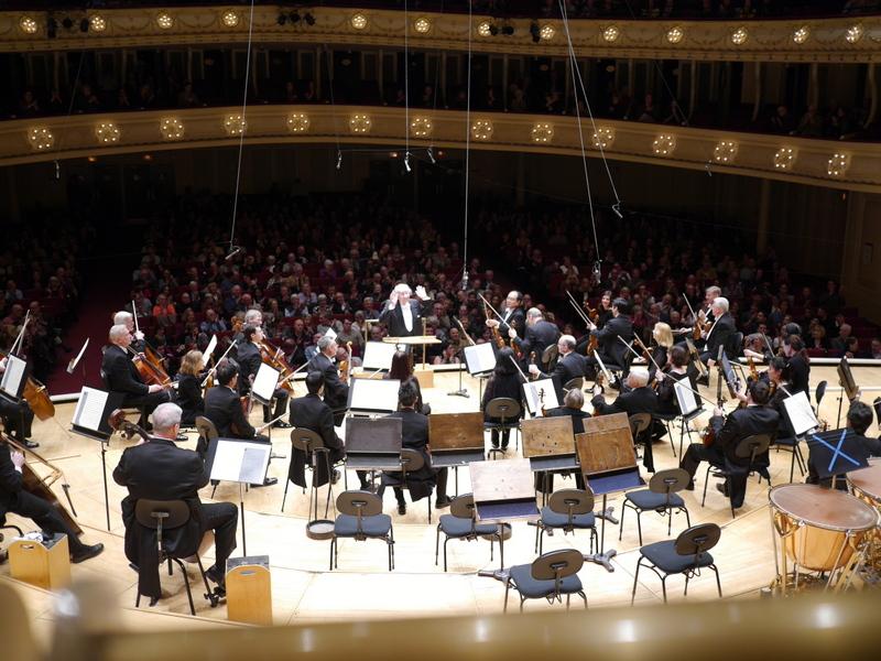 シカゴ交響楽団 オーケストラホール ロジェストヴェンスキーとシカゴ交響楽団 @Symphony Center, Chicago