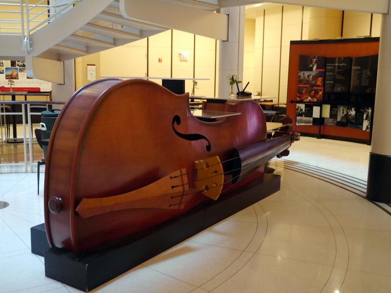シカゴ交響楽団 オーケストラホール シンフォニーセンター ロビー @Symphony Center, Chicago