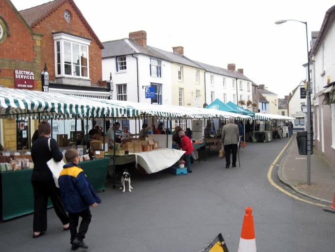 小さい町ながらそこそこの規模の市場 @Shipston-on-Stour コッツウォルズ