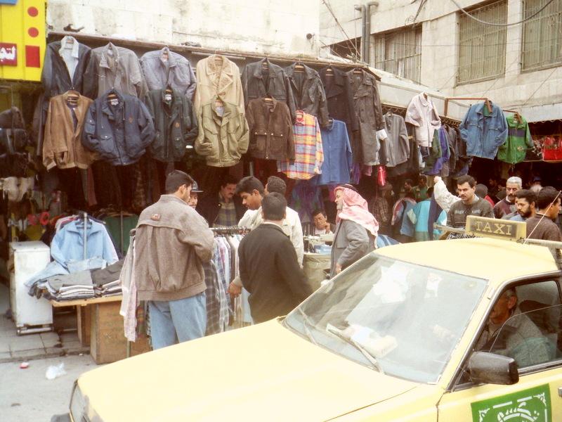 衣類の市場 @Downtown アンマン
