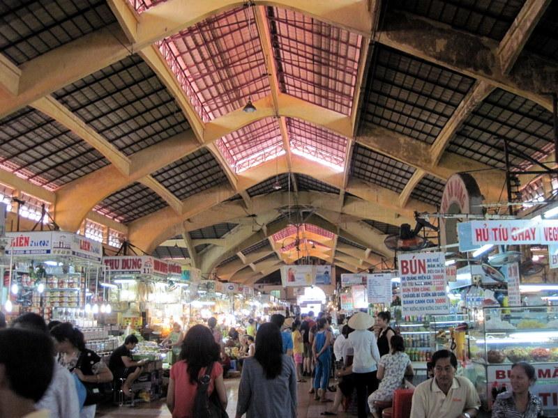 ベンタイン市場内部 @Bến Thành Market ホーチミン