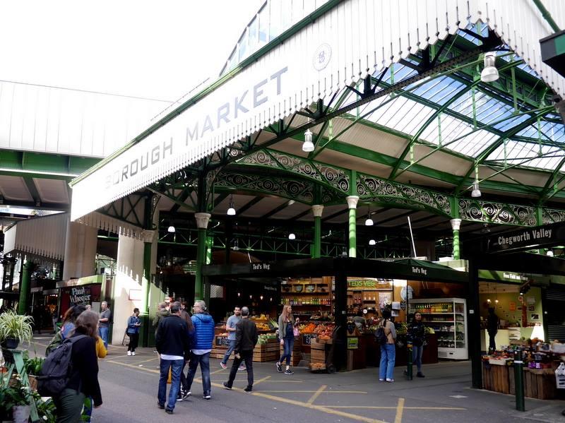 バラマーケット外観 @Borough Market ロンドン
