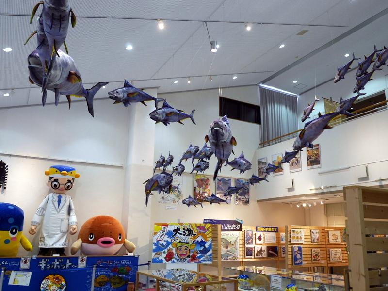 1階展示の様子 @渚の博物館
