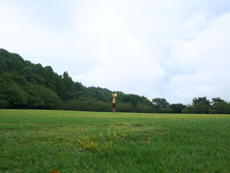 庭園内の彫刻 @DIC川村記念美術館