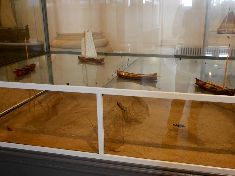 網漁のジオラマ @Altonaer Museum