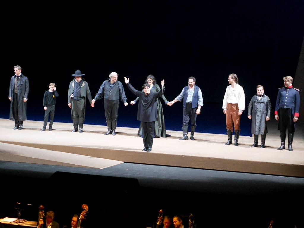 拍手喝采のバッティストーニ @Bayerische Staatsoper