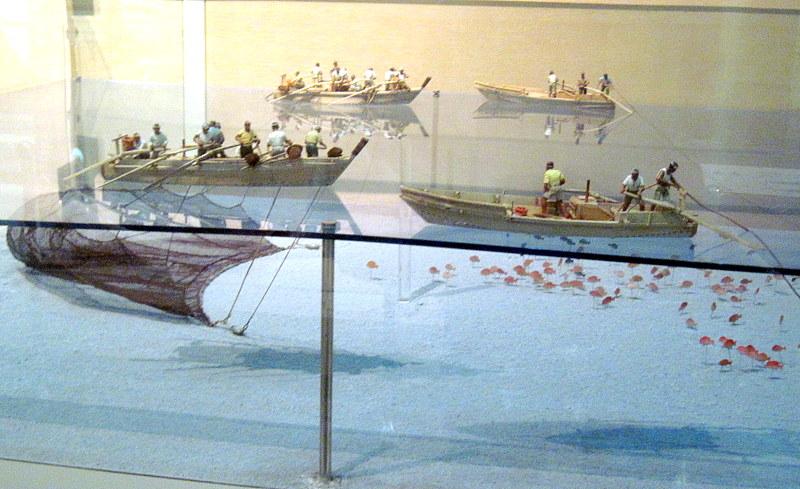 千葉県 館山の『渚の博物館』圧倒的な網漁のジオラマ / ハンブルク アルトナ博物館で見た網漁展示の謎が解けた