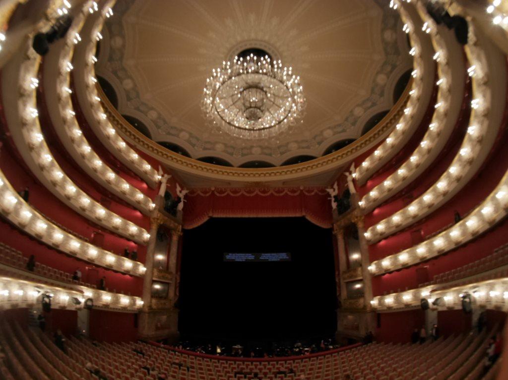 バイエルンの歌劇場内部 @Bayerische Staatsoper